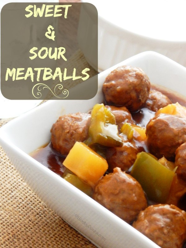 crock pot sweet and sour meatball recipe