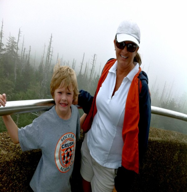 The top of Clingmans Dome in the Great Smoky Mountains (circa 2010/2011)