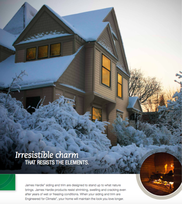 James Hardie Exterior Home Siding Color Technology