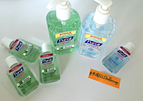 PURELL Advanced Hand Sanitizer Ready for #PURELL30