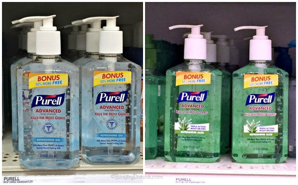 PURELL Advanced Hand Sanitizer at Target collage #PURELL30