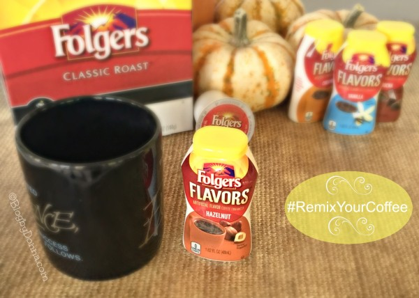 #remixyourcoffe with Folgers
