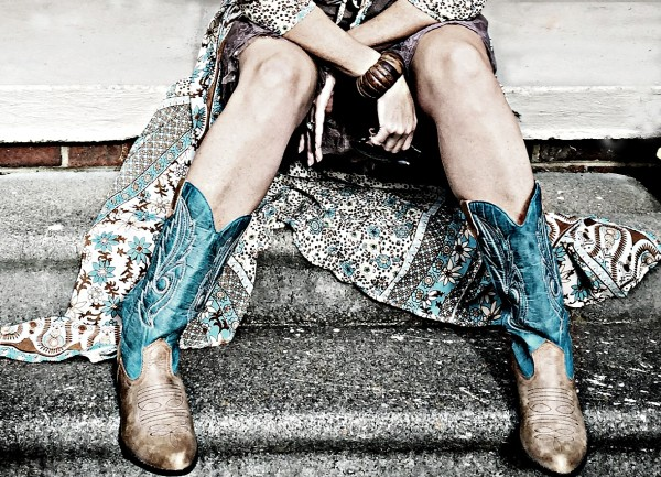 Outfit of the day OOTD Cowboy boots #ootd
