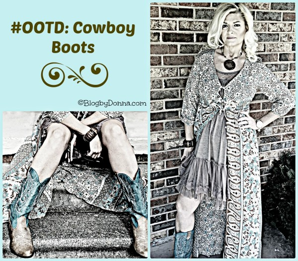 OOTD cowboy boots #ootd