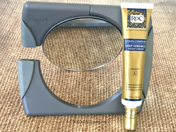 RoC Retinol wrinkle cream #RoCRetinolResolution