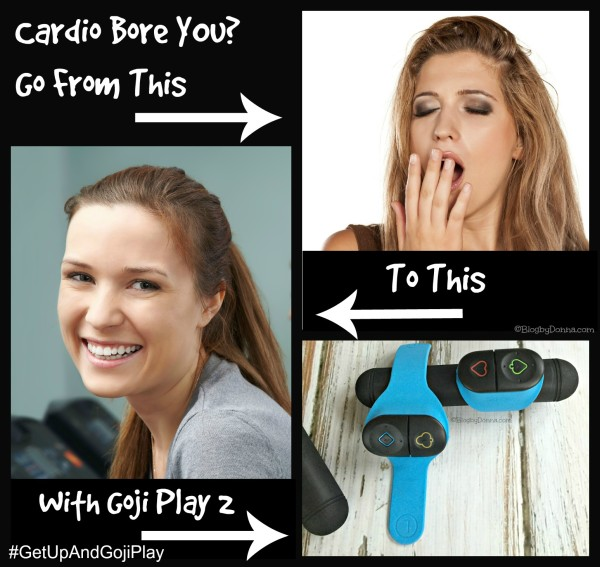 Cardio bore you? Try Goji Play 2 #GetUpAndGojiPlay