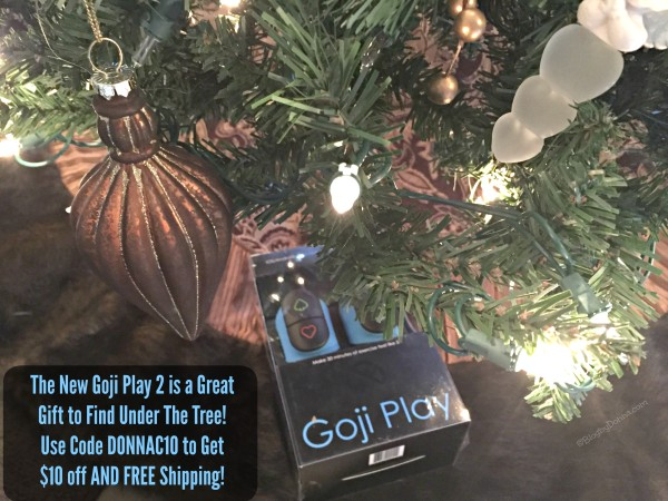 Goji Play 2 gift idea #GetUpAndGojiPlay