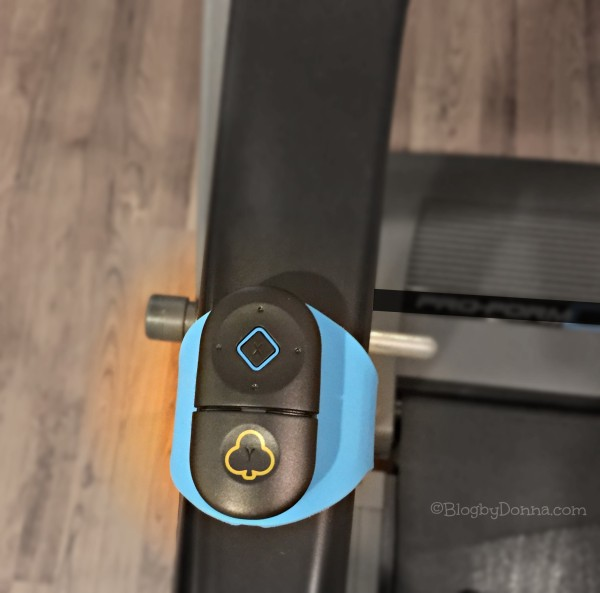 Goji Play Controllers on Treadmill