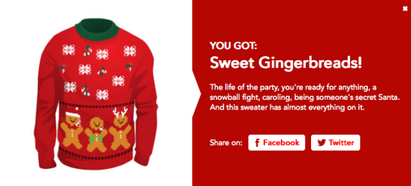 Ugly Christmas Sweater personality quiz