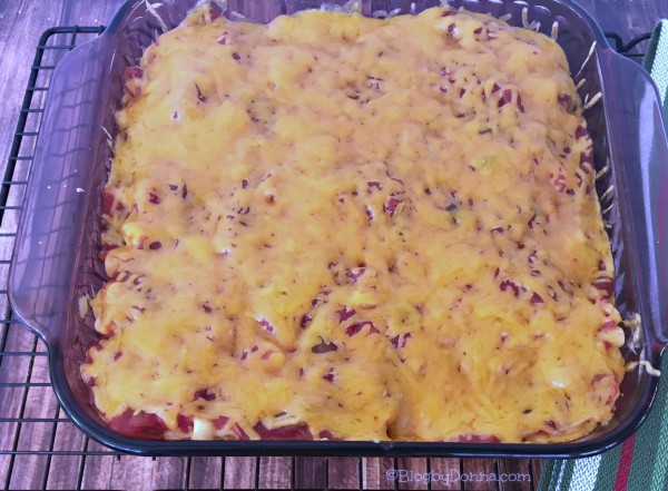 taco bake from Kraft recipes hub on Walmart