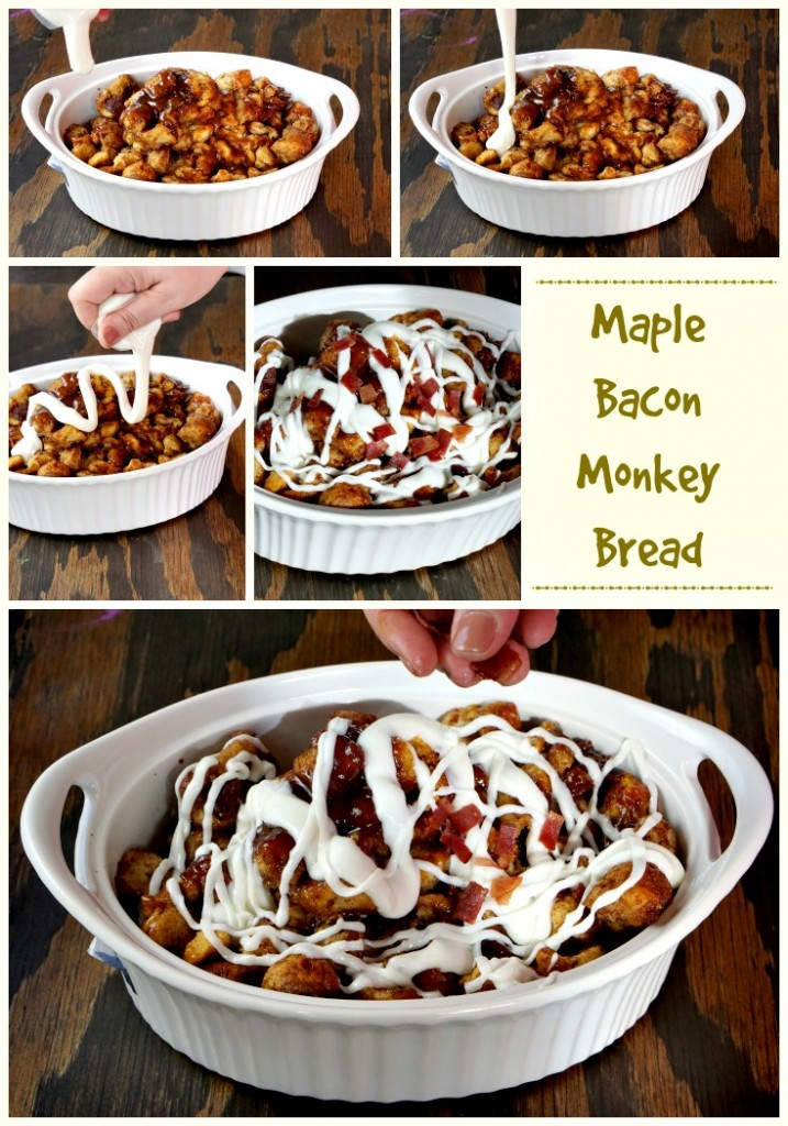 Monkey Bread with Maple Bacon Recipe