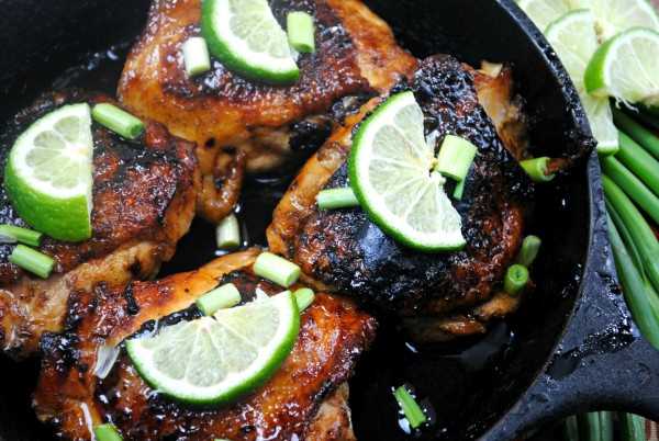 Easy honey lime chicken recipe