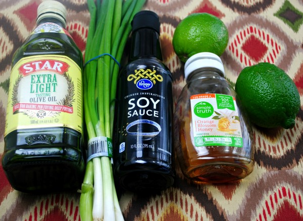 Ingredients for honey lime chicken recipe