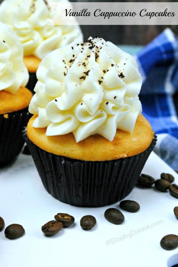 Vanilla Cappuccino Cupcakes for Easter