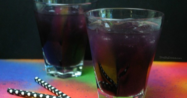Purple Rain cocktail in honor of Prince...