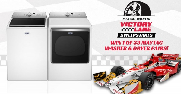 hhGregg and Maytag Washer Dryer set sweepstakes