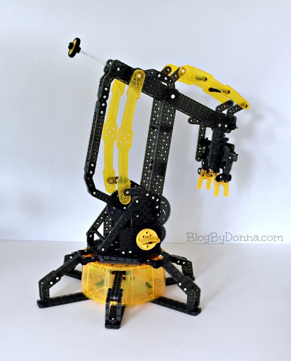 STEM learning with Vex Robotics Robotic Arm by Hexbug from Best Buy