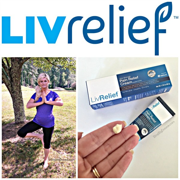 LivRelief topical pain treatment for aches and pain