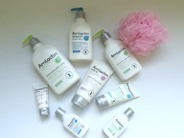 AmLactin skin care, skin therapy moisturizing products