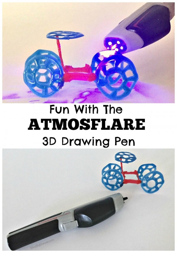 3D drawing fun with the AtmosFlare Drawing Pen