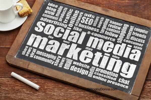 Promoting your blog via social media promotion.