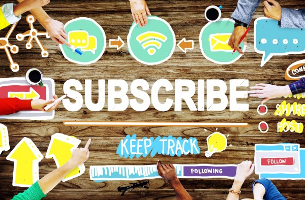 blog subsciption to build blog audience