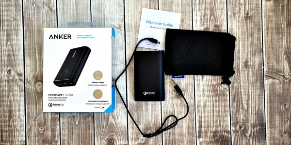 why a blogger needs a portable charger like Anker for work