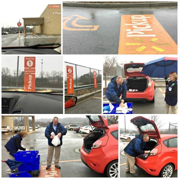 Walmart Grocery Pickup is so easy to use #walmartrocks