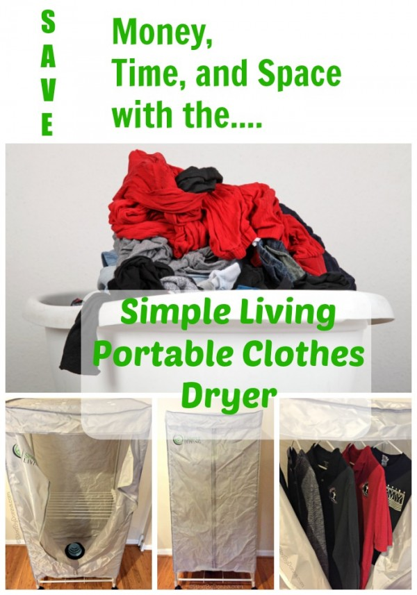 Simple Living Portable Clothes Dryer