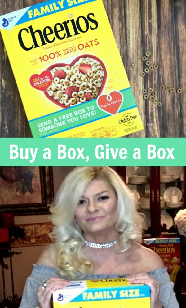 Buy a box of Cheerios from Walmart and give a free box to someone you love