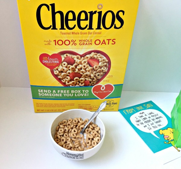 Buy a box, give a box of Cheerios to someone you love from Walmart