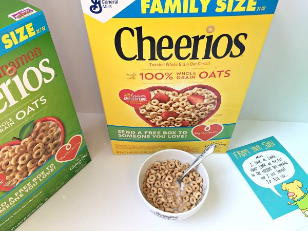 Buy a box of Cheerios and give a free box from Walmart to someon you love