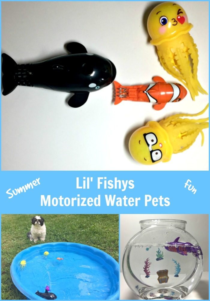 Lil Fishys motorized water pets for the pool and summer fun