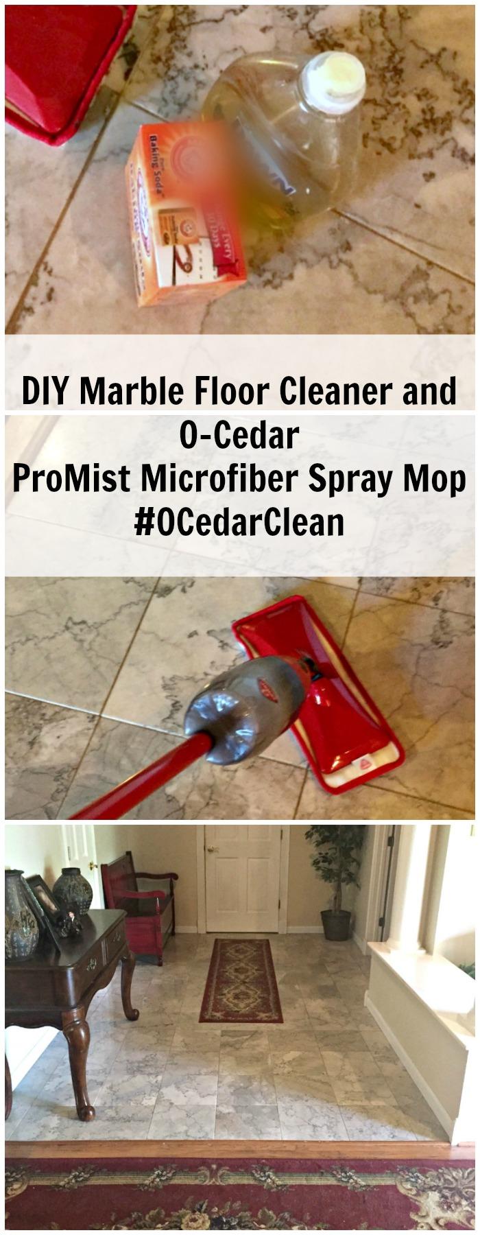 O-Cedar ProMist Microfiber Spray Mop from Walmart