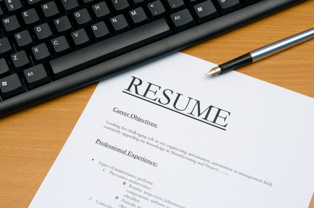 A stand-out resume for a career in accounting and finance