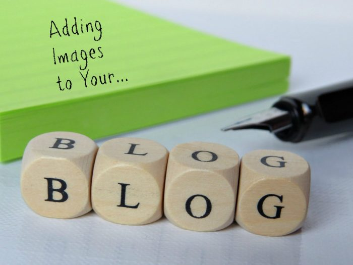 Adding images to your blog