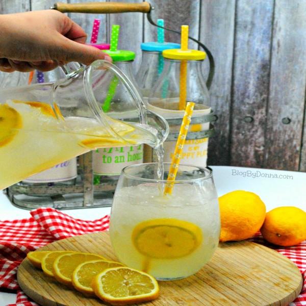 Easy Basic Homemade Lemonade Recipe