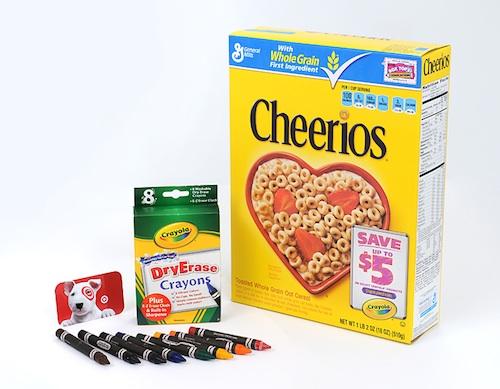 Crayola Target gift pack