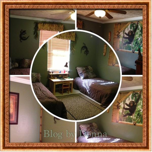 CodysJungleRoom boy's bedroom