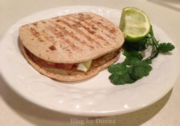 fish taco sandwich