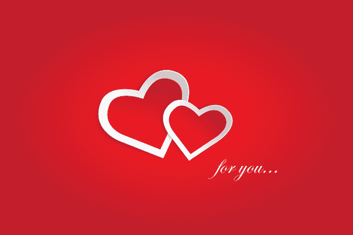 hearts for you valentine graphic save money on valentine's