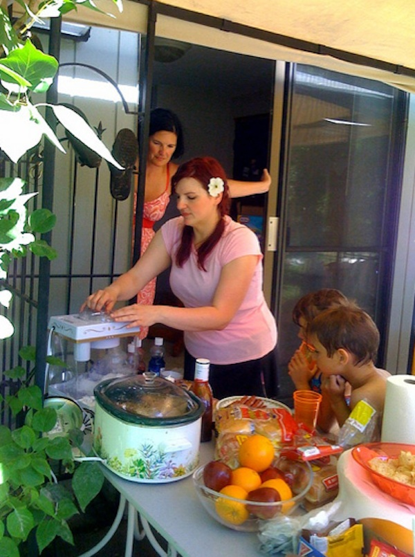 how to throw a safe summer party