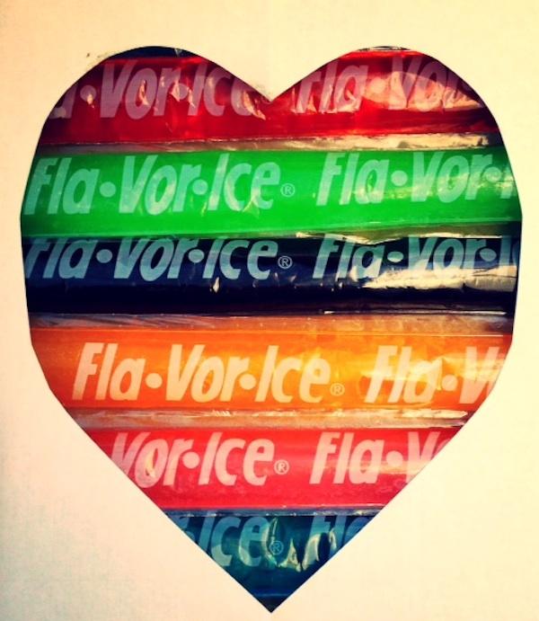 Flavorice heart fla-vor-ice