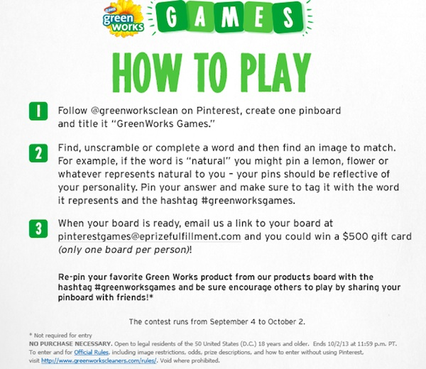 How to Play #greenworksgames Img