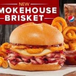 Arby's new smokehouse brisket