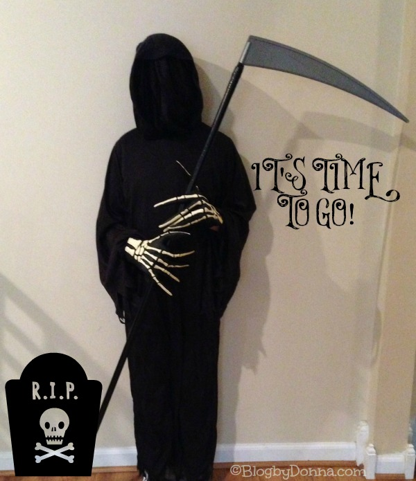 My Grim Reaper 1 letters to our sons