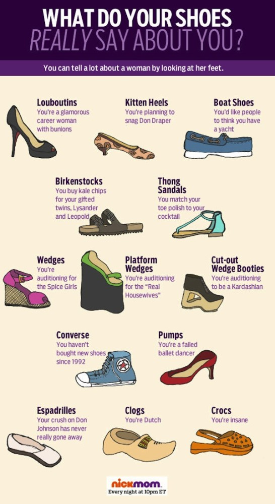 What Shoes Say about a Person