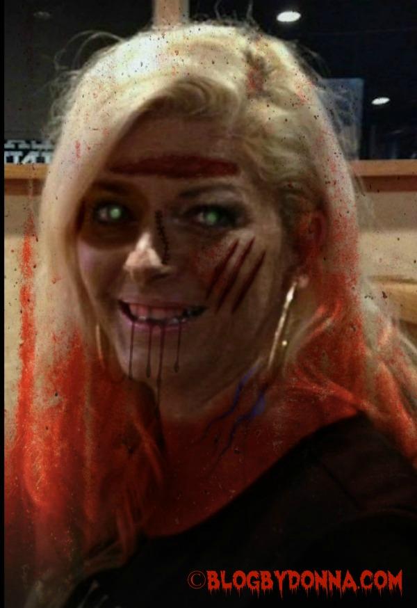 zombie on The Walking Dead
