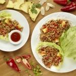 Pei Wei Sriracha Pineapple Pork Lettuce Wraps
