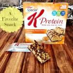 Kellogg's Special K Protein Bars #greatstarts My favorite snack